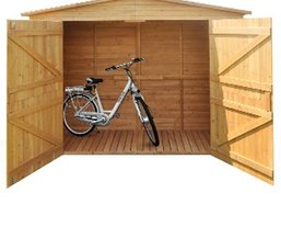 fahrradgarage fahrradbox modelle infos neu. Black Bedroom Furniture Sets. Home Design Ideas