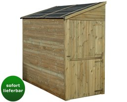 fahrradgarage holz fahrradbox top 14 neu. Black Bedroom Furniture Sets. Home Design Ideas